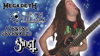Top 10 MELODIC Guitar Solos In Metal