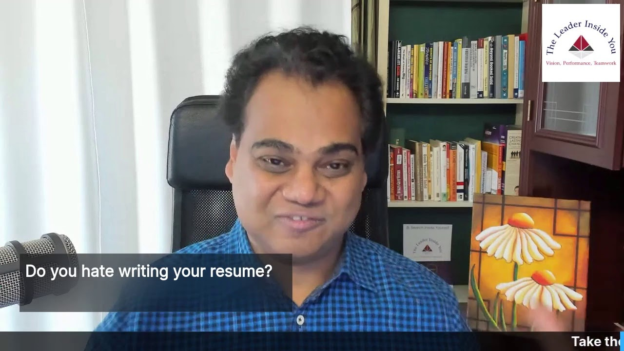 Do you hate writing your resume?