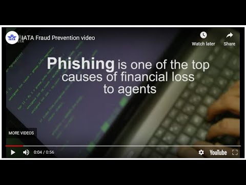 IATA Fraud Prevention video