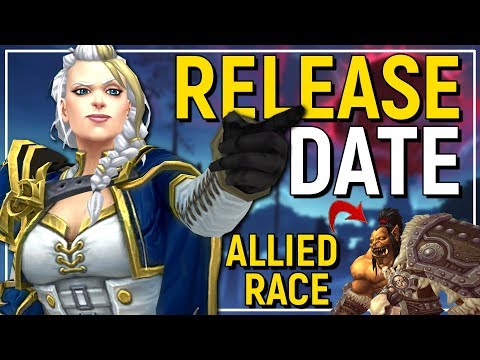 BIG NEWS! Battle For Azeroth Release Date, 7th New Allied Race Confirmed & New Class Design Mantra