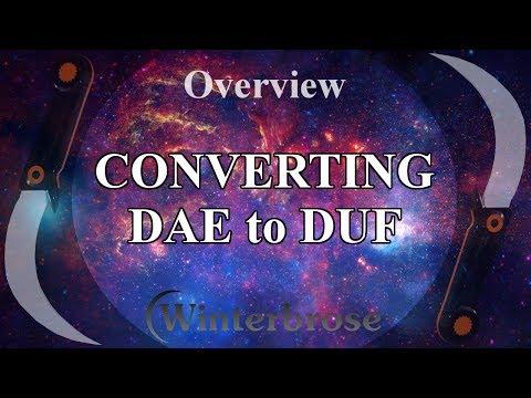 Overview: Convert Collada DAE Models To Daz Studio DUF Props