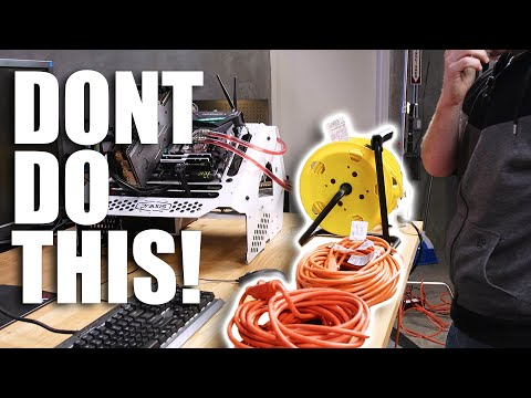 Are extension cords dangerous for Computers?