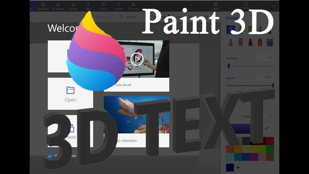 Cách Sử Dụng Paint 3D Trên Windows 10 Cho Người Mới Bắt Đầu - HUY AN PHÁT