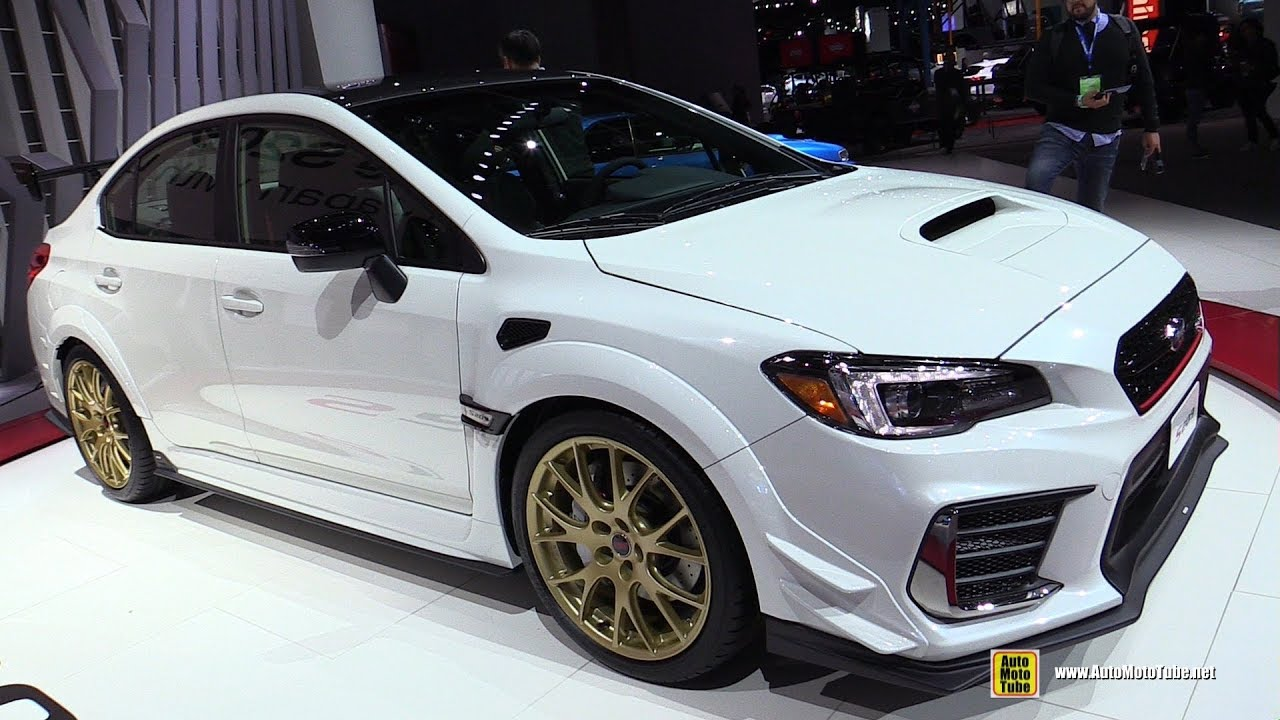 2020 Subaru Wrx Sti S209 Exterior And Interior Walkaround Detroit Auto Show 2019