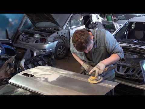 Кузовной ремонт Toyota Chaser  Реставрация началась
