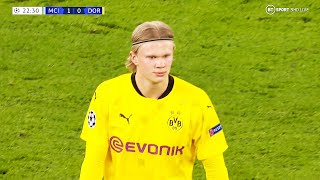 Erling Haaland, Not Enought vs Manchester City 06/04/2021 HD-1080p