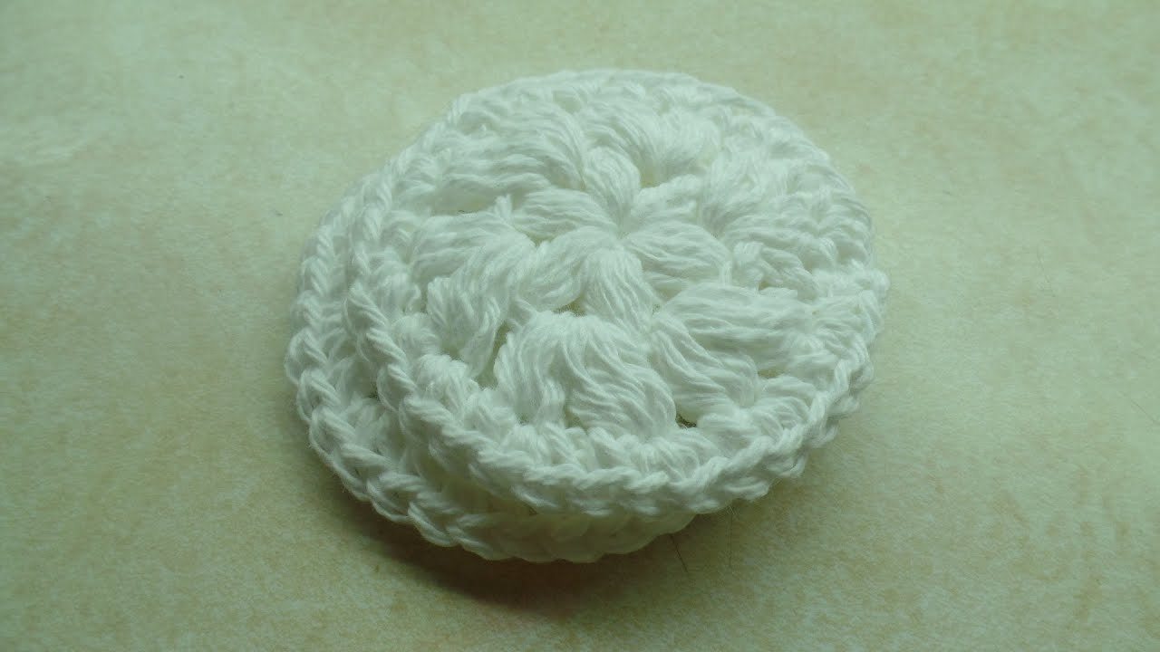 CROCHET How to #Crochet Easy Washable Reusable Face Scrubby MakeUp ...
