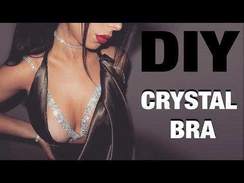 DIY CRYSTAL BRA