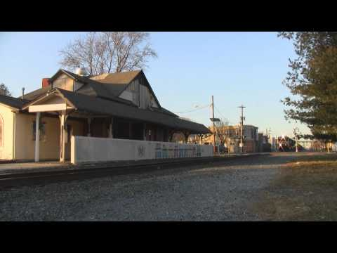 HD: Rare Daylight NS 506 Roars Through Gloucester City w/ Co