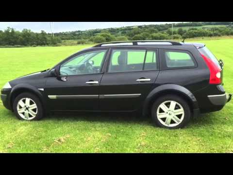 2005 renault megane sport tourer 1600cc petrol dynamique youtube. Black Bedroom Furniture Sets. Home Design Ideas