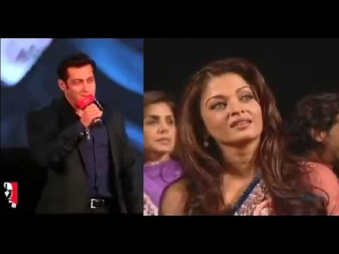 Salman Khan Sings 'Tere Naam' For Aishwarya Rai