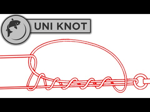 How To Tie A Uni Knot - For Braid And Monofilament