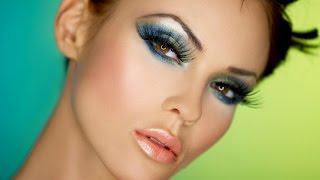 ★★★Вечерний макияж для карих глаз Уроки макияжа в домашних условиях★★★