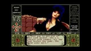 Amiga Longplay Elvira - Mistress Of The Dark