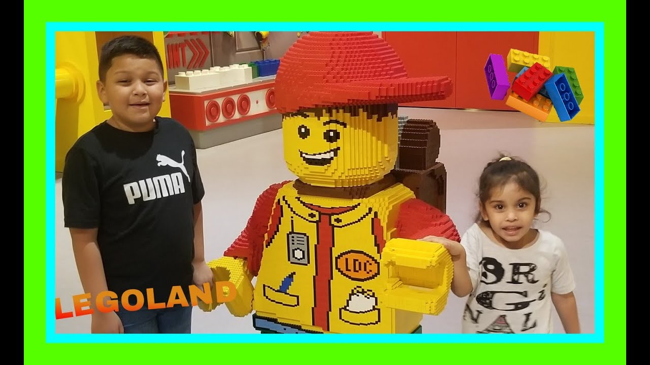 HAVING FUN AT LEGOLAND DISCOVERY CENTER - YouTube