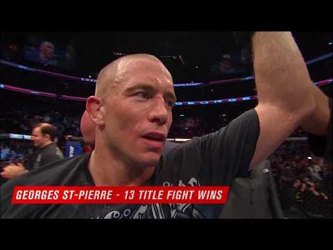 Рекордсмены по количеству побед в титульных боях в UFC
