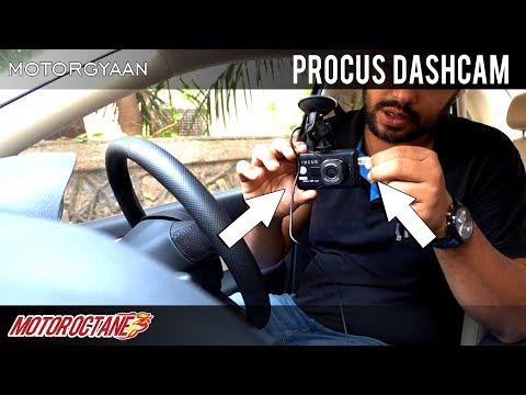 Best Cam Dashcam In India Hunt - Ep 1- Procus   Hindi   MotorOctane
