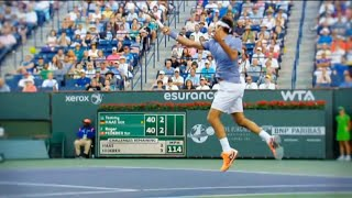 Roger Federer - Elegance of Forehand & Backhand (HD)