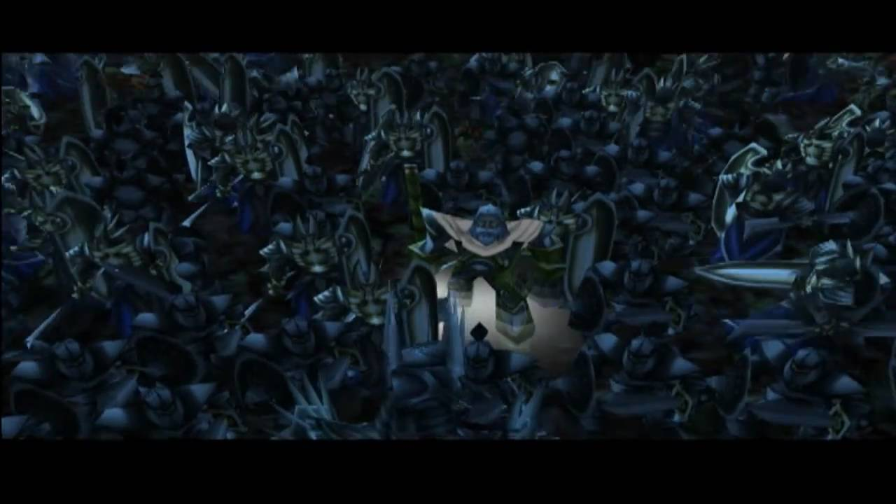 Lord of the Rings  Warcraft 3 Style  Opening Scene  YouTube