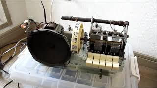 東芝 真空管ラジオ 5BA-50 ピアノラジオ 受信テスト