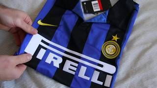 d85baa637b7 Minejerseys 98-99 Inter Milan Retro Jersey Unboxing Review