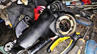 Замена прокладок и чистка маслоотделителя SKODA Octavia Tour