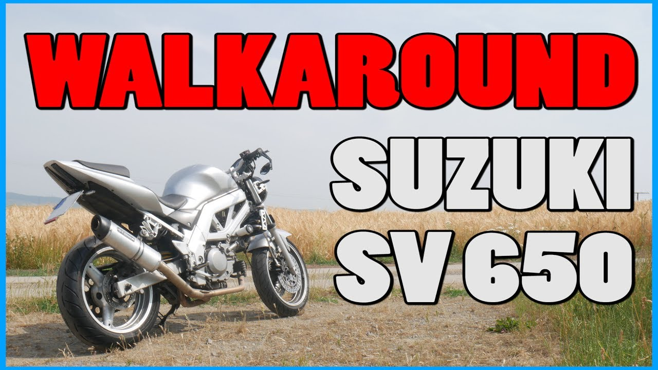 walkaround suzuki sv 650 alle umbauten youtube. Black Bedroom Furniture Sets. Home Design Ideas