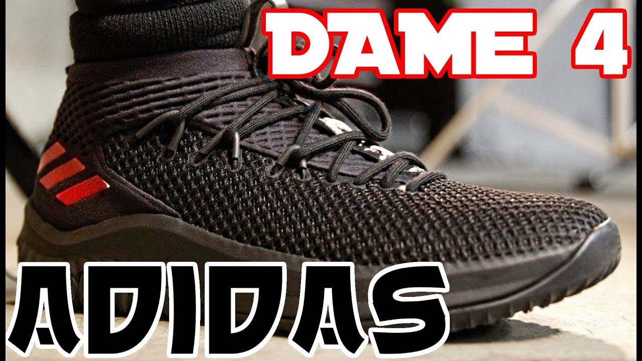Adidas Dame 4 Basketball Shoe Performance Review - YouTube 508edc852