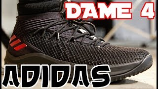Adidas Dame 4 Basketball Shoe Performance Review