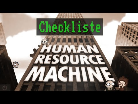 Casual Friday: Human Resource Machine [ Deutsch / German ]