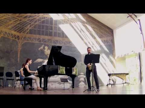 Prelude, Cadence et finale, Alfred Desenclos | Raul Gouveia, Saxofone; Marisa Silva, piano