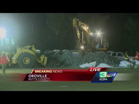 How crews will repair hole in Lake Oroville's emergency spillway