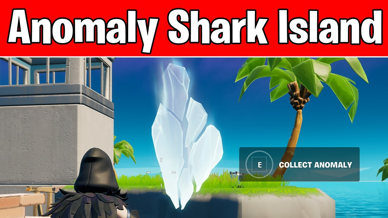 Download Investigate Anomaly on Shark Island - Not Working (Fortnite Season 6 Agent Jones Challenges)