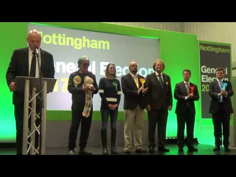 Nottingham East General Election Declaration
