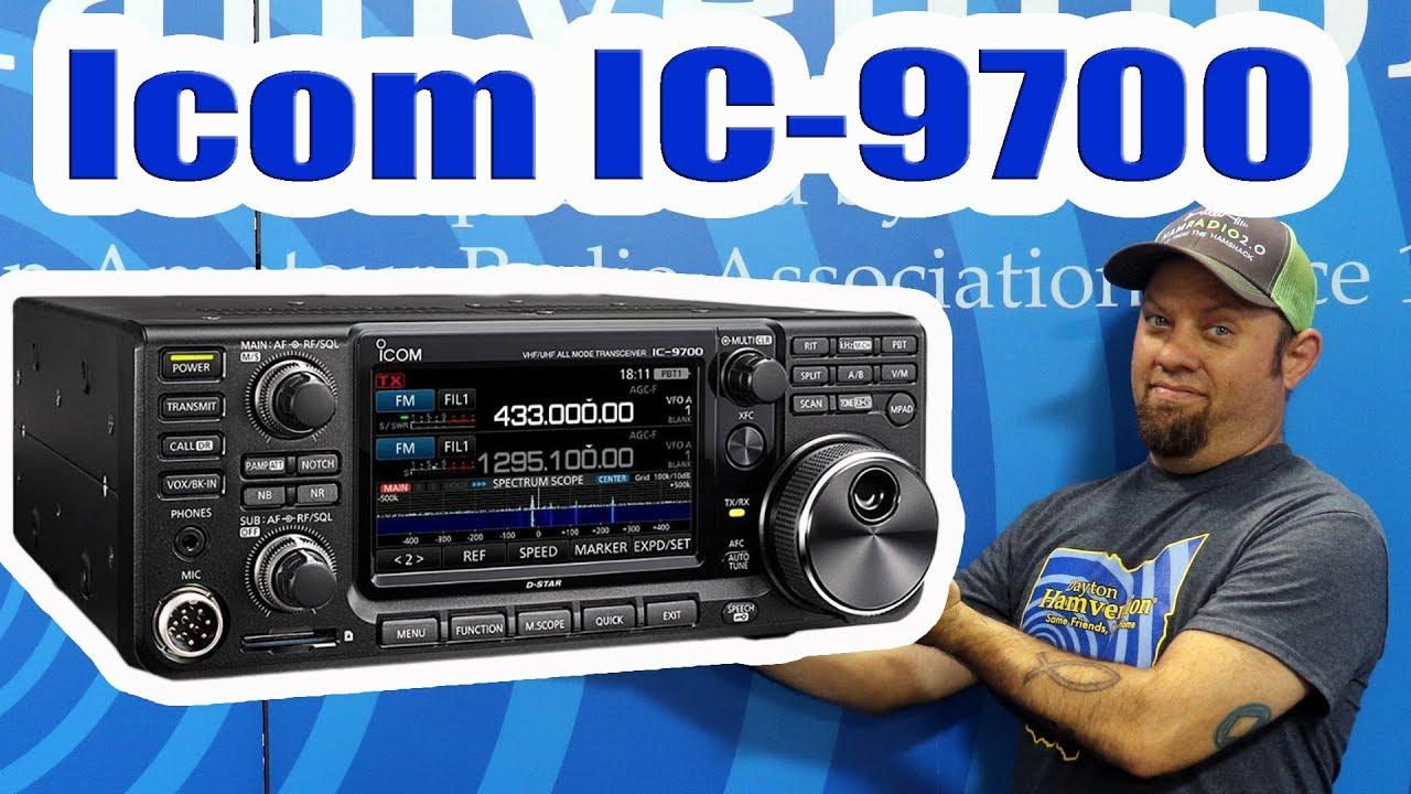 Episode 212: Icom IC-9700 Demo at 2019 Dayton Hamvention