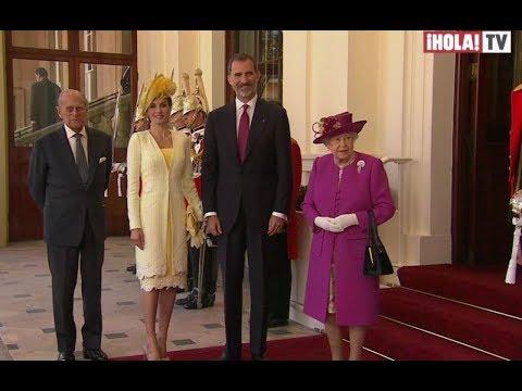 Los reyes de España visitan el Reino Unido | La Hora ¡HOLA!