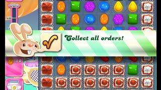 Candy Crush Saga Level 1206 walkthrough (no boosters)
