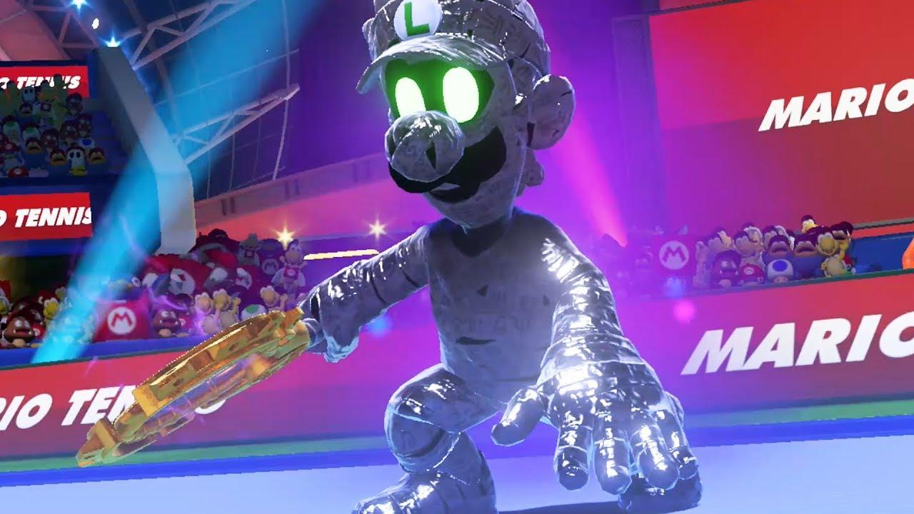 Mario Tennis Aces Mario Vs Dark Luigi
