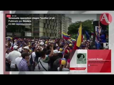Tensión en Venezuela por marchas oficialistas y de la oposición