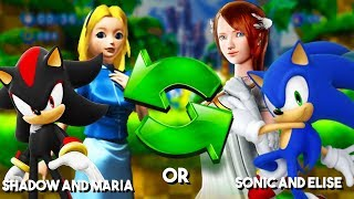 SONIC AND ELISE OR SHADOW AND MARIA? | Sonic Adventure 2 Xbox One Backwards Compatible Gameplay