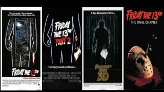 Movie Review: Friday the 13th parts 1, 2, 3, and 4