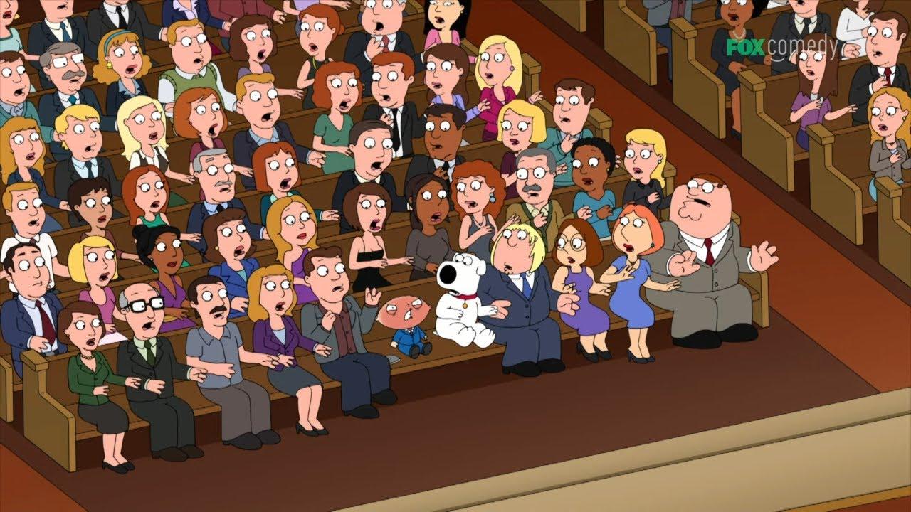 Jego pierwszym słowem było przekleństwo... i to w kościele! [Family Guy]
