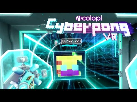 Cyberpong VR - HTC Vive Launch Trailer
