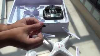 Квадрокоптер SYMA X5C с камерой. Полеты над крышей DX. Моя китайская квартира