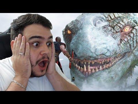 JÖRMUNGANDR, A COBRA GIGANTE! - GOD OF WAR PS4 - PARTE 4