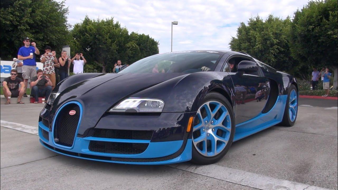 Cars Amp Coffee Irvine Bugatti Veyron 16 4 Vitesse Carrera