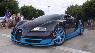 Cars & Coffee Irvine: Bugatti Veyron 16.4 Vitesse, Carrera GT, SRT Viper GTS & More!