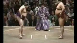 Wakanohana vs. Musashimaru : Natsu 1998 (若乃花 対 武蔵丸)