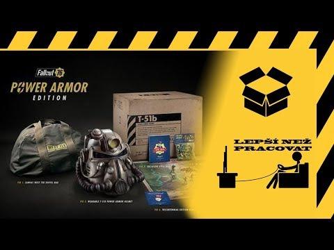 Český unboxing - Fallout 76 Power Armor Edition thumbnail