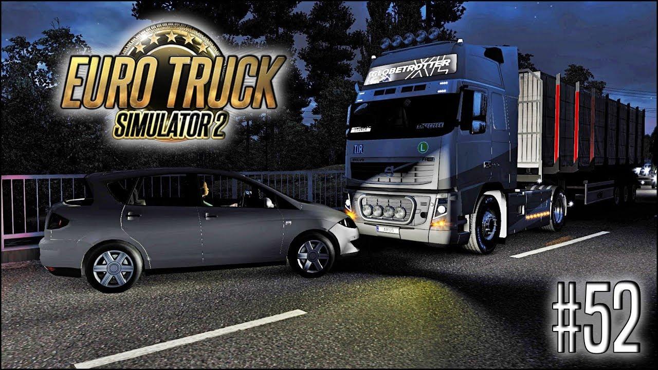 Euro Truck Simulator 2 - #52 I Nocna stłuczka ????????
